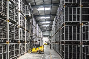 getting better machinery results in reducing warehousing expenses