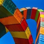 shipping containers artwork